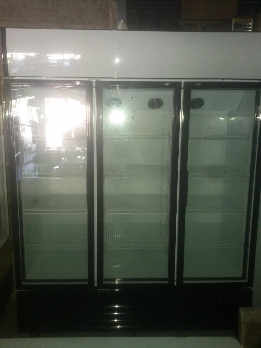 Heladera de 3 puertas vertical 1300 litros precio en for Precio de puertas inyectadas