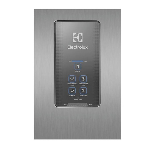 heladera electrolux no frost panel touch 433lts tf51x acero