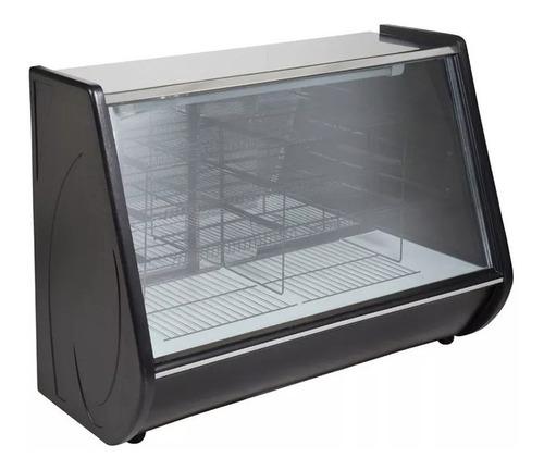 heladera exhibidora bestcold vitrina mostrador 1200 black