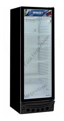 heladera exhibidora comercial vertical briket m 3200 vidrio