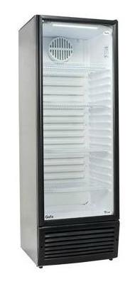 heladera exhibidora gafa vertical visu premiun luz led 402lt