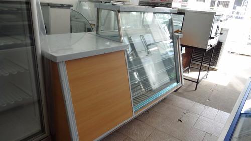 heladera exhibidora panorámica 2.00 mts nueva