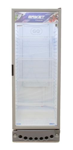 heladera exhibidora vertical 1 puerta briket 4200