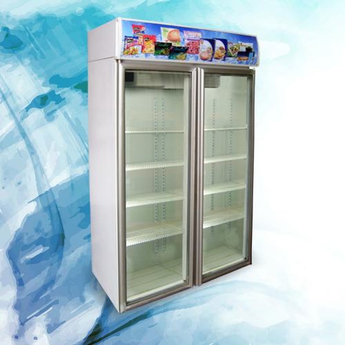 heladera exhibidora vertical 2 puertas