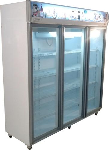heladera exhibidora vertical 3 puertas - iny. poliuretano