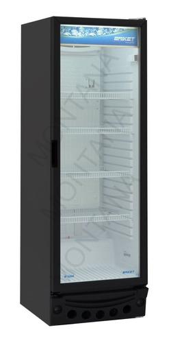 heladera exhibidora vertical briket master 3200 315 lts