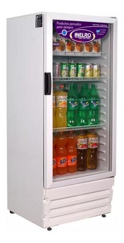 heladera exhibidora vertical inelro mt300 300 litros bebidas