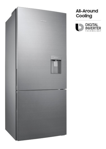 heladera freezer inferior con multi flow de 400l