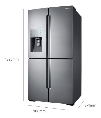 heladera french door con tecnología triple cooling, 684 l