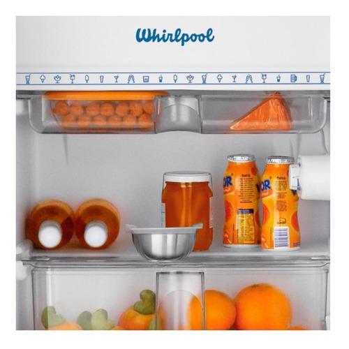 heladera frigobar whirlpool retro 76 lts roja wra09r1