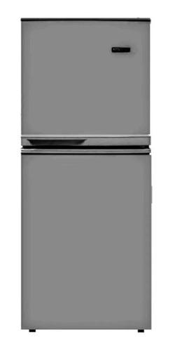 heladera kanji kd108f 125 litros gris - aj hogar