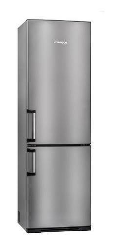 heladera kohinoor combi acero inoxidable kga-4094/7 grande