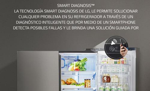 heladera lg gwf439bvdz inverter 314 litros smart dispenser