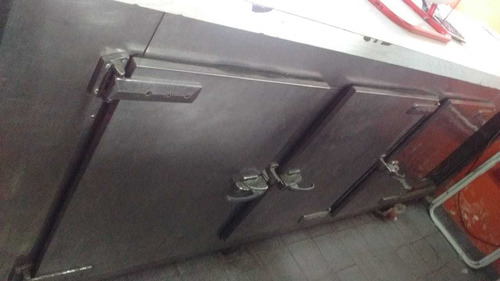 heladera mostrador 3 puertas acero inoxidable