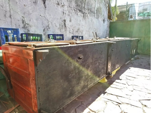 heladera mostrador 6 puertas con bacha