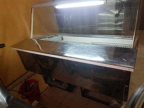heladera mostrador polleria carniceria 0km