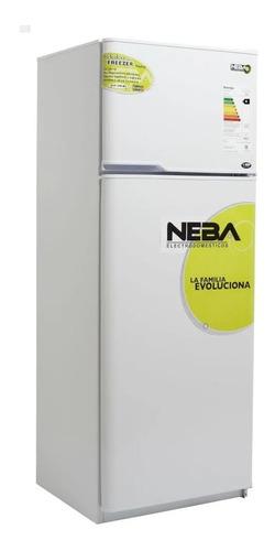 heladera neba 280 litros con freezer blanca garantía nueva