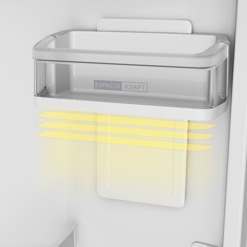 heladera no frost whirlpool 426 lts wrm54ab