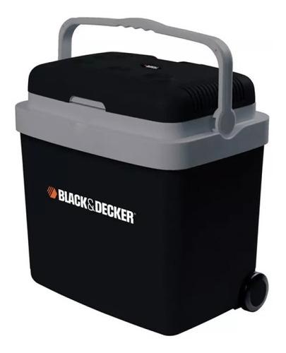 heladera portátil black & decker 33 litros 12/220v bdc33l