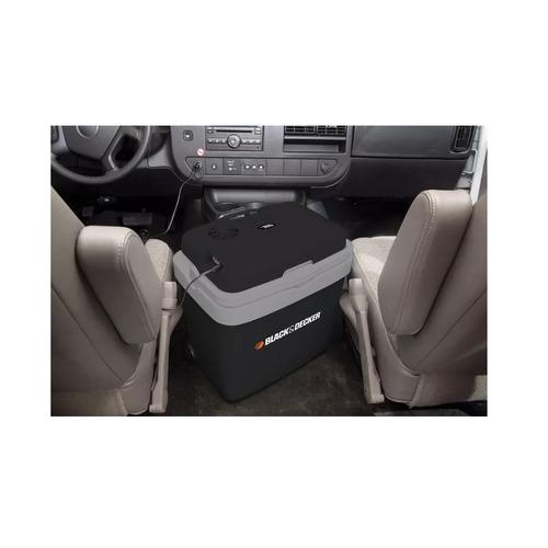 heladera portatil idela auto 12v-220v 33l black+decker bdc33