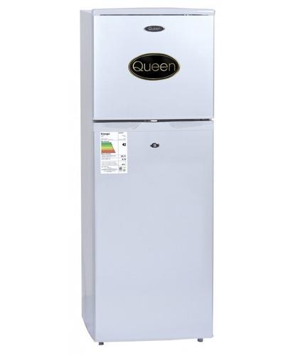 heladera refrigerador 138 lts c7freezer plata o blanco queen