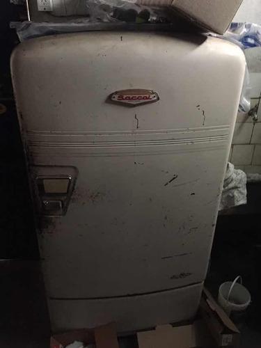 heladera saccol antigua funcionando