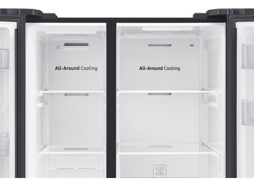 heladera samsung side by side all around cooling 647l rs62