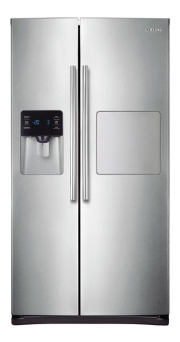 heladera samsung side by side rs25h5223sl