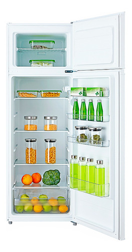 heladera siam + freezer 240l estantes vidrio clase a ++