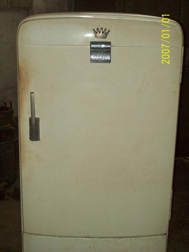 heladera vintage frigidaire funcionando