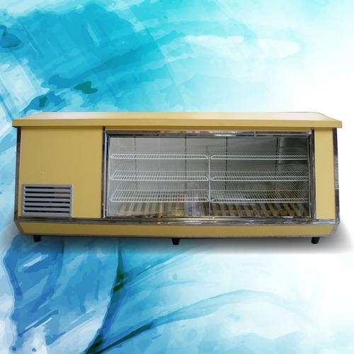 heladera vitrina mostrador 2,00 m. nuevas