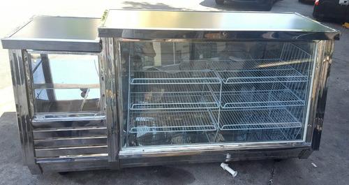 heladera vitrina mostrador 2.00 mt nuevas