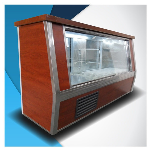 heladera vitrina mostrador rubra 2,00 m. nueva