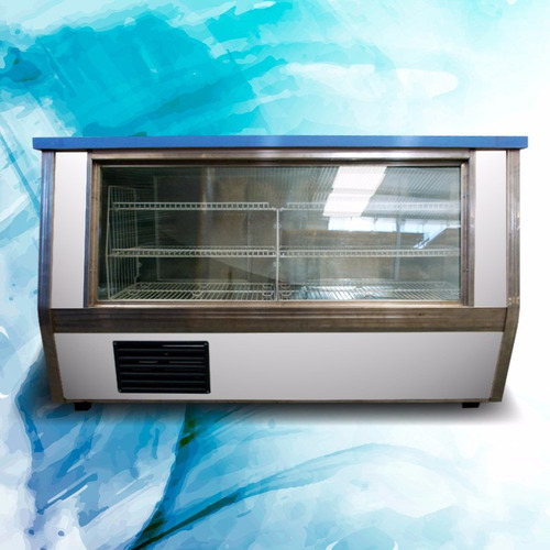 heladera vitrina mostrador rubra 3,00 metros nuevas
