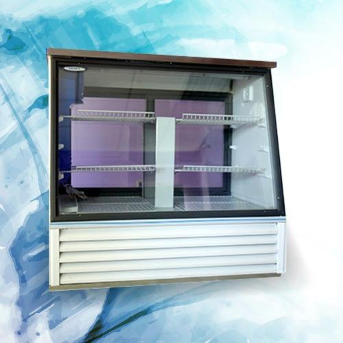 heladera vitrina mostrador silken vm-120 - 1,20 m. nuevas