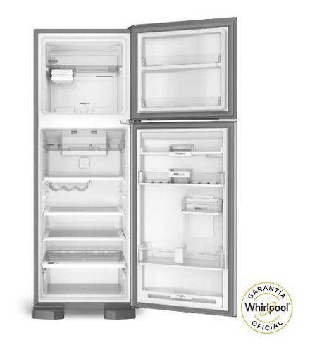 heladera whirlpool no frost acero inox 400 lts 37-240
