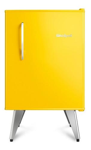 heladera whirlpool retro 76 lts amarilla wra09y2