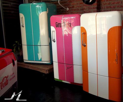 heladeras antiguas restauradas personalizadas retro vintage