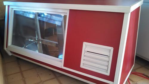 heladeras mostrador 2.mts nuevas!entrega inmediata!!