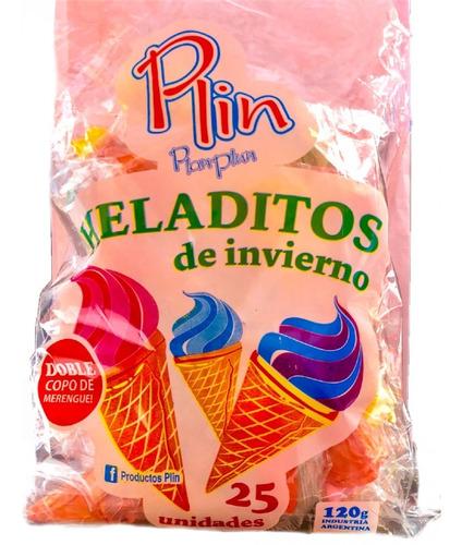 heladitos azucarados - bolsa 25un - barata la golosineria