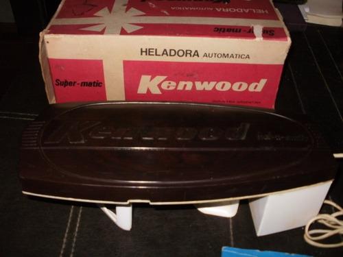 heladora kenwood ( funcionando perfecto con recetario )