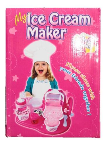 helados cocina máquina