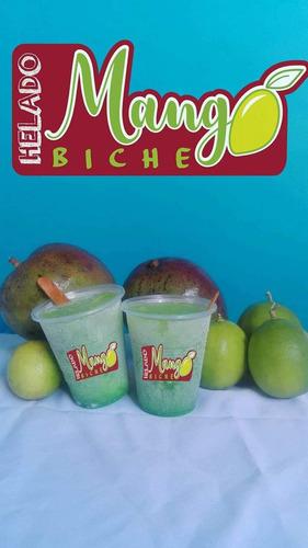 helados de mango biche