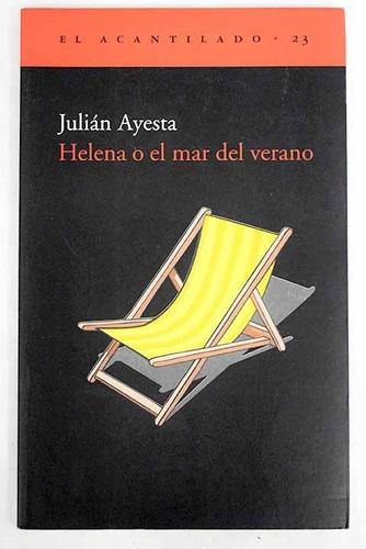 helena o el mar del verano, julian ayesta, acantilado