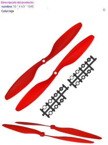 helice 10x4.5 - 2pares cw/ccw drones multirotor aviones