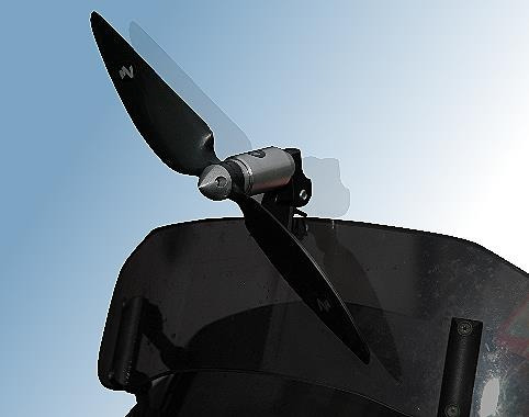 helice anti turbulencia para moto mverholen alemã