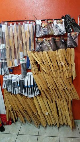 hélice de madeira 16x8 jc todas medidas, furada e balanceada
