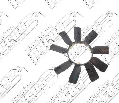 hélice do radiador mercedes 280e 1992 a 1993