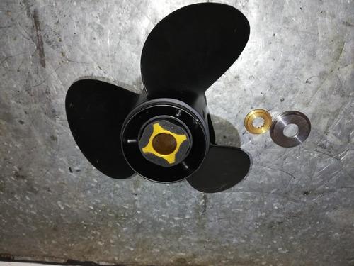 helice evinrude 13.2 x 19 nueva con buje y topes.