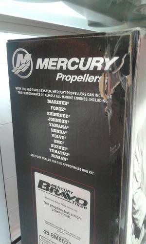 helice inox motor de popa mercury 14x 17original surfski